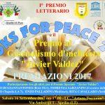 BOOKS FOR PEACE E PREMIO GIORNALISTICO JAVIER VALDEZ 2017