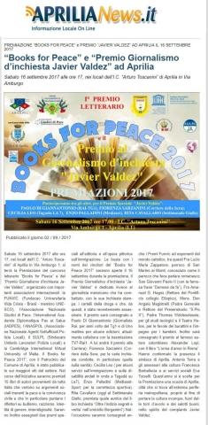 Aprilia News.it del 2 settembre 2017