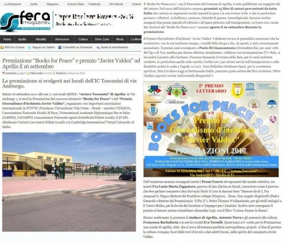 Sfera Magazine, 2/09/2017