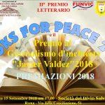 Il Campus Città del Sapere Polo di Napoli Unitelma Sapienza patrocinerà il Books for Peace 2018
