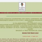 Booksforpeace 2019 anche su cartaepenna.it