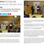 """The """"Books for Peace"""" in Lazio press"""