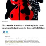 """The """"Books for Peace"""" in the Finland newspapers"""