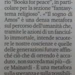 The Books for Peace in Liguria press