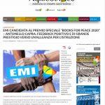 Books for Peace 2020 – Cominciano i primi echi….
