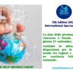 L'11 SETTEMBRE LA CERIMONIA DI PREMIAZIONE DELLA V EDIZIONE DEL BOOKS FOR PEACE