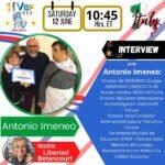 Books for Peace su Virtual Book Fair USA con Antonio Imeneo