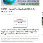 Books for Peace 2021 – rassegna stampa del 10/9/2021