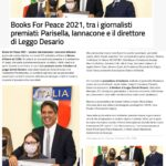 Books for Peace 2021 – Rassegna Stampa – Leggo