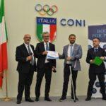 BOOKS for PEACE dona al CIP  Lazio per un atleta paralimpico, un corso gratuito MCB MOLI FORM
