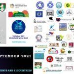 Le foto dei vincitori internazionali del BOOKS FOR PEACE 2021
